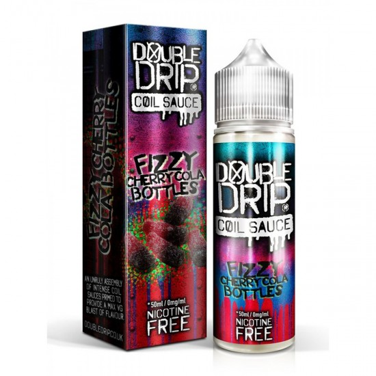 Fizzy cherry cola bottles 50ml shortfill by Double Drip